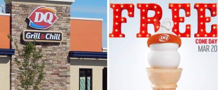 Dairy Queen ofrecerá conos de helado gratis el primer día de primavera
