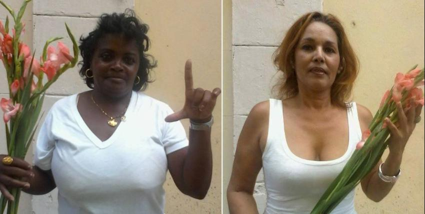 Opositoras cubanas serán procesadas por defender a un cuentapropista, las acusan de desacato y venta ilícita entre otros cargos