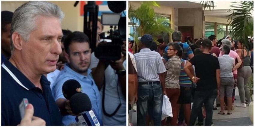 """Díaz-Canel pide """"mayor control"""" para remediar la escasez de alimentos en Cuba"""