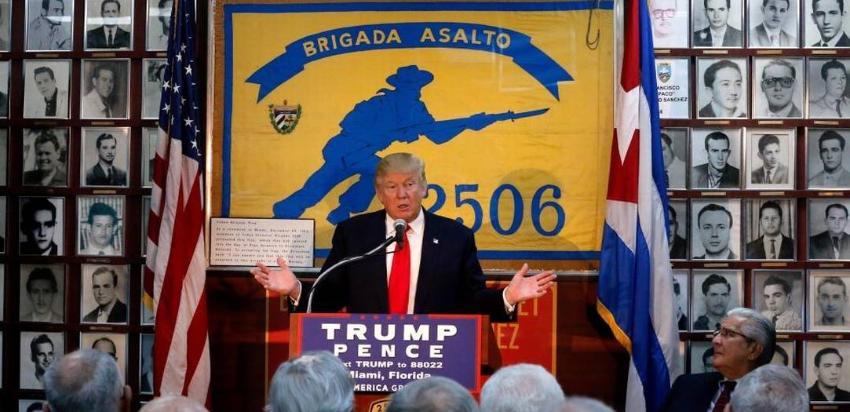 Opositores cubanos en el exilio enviarán un mensaje público al presidente Donald Trump
