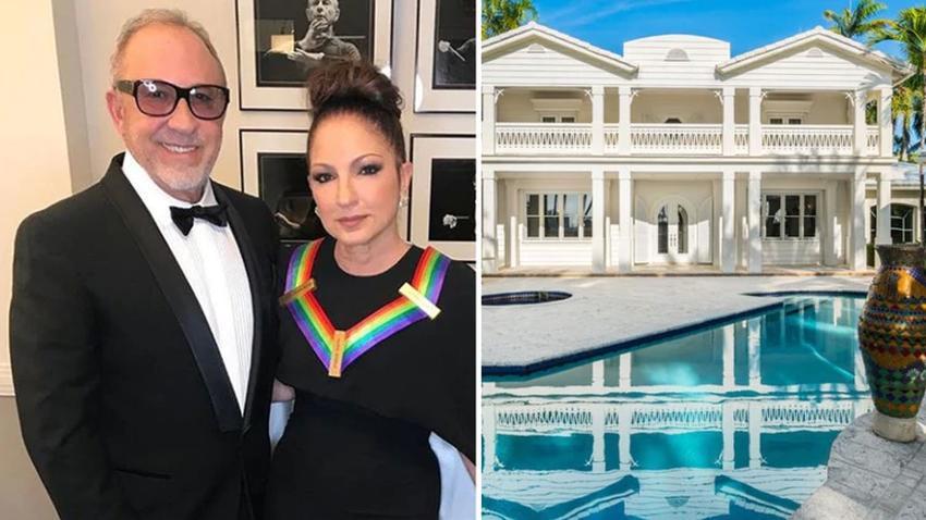 Los Estefan rentan su exclusiva mansión en Star Island de Miami Beach por $ 75.000 al mes