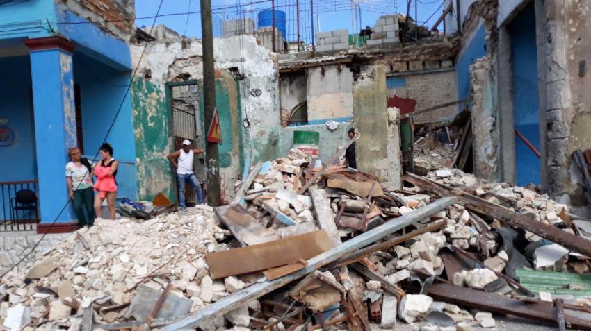 Hasta la fecha sólo 101 de las 804 viviendas destruidas totalmente en La Habana tras el tornado se han restituido