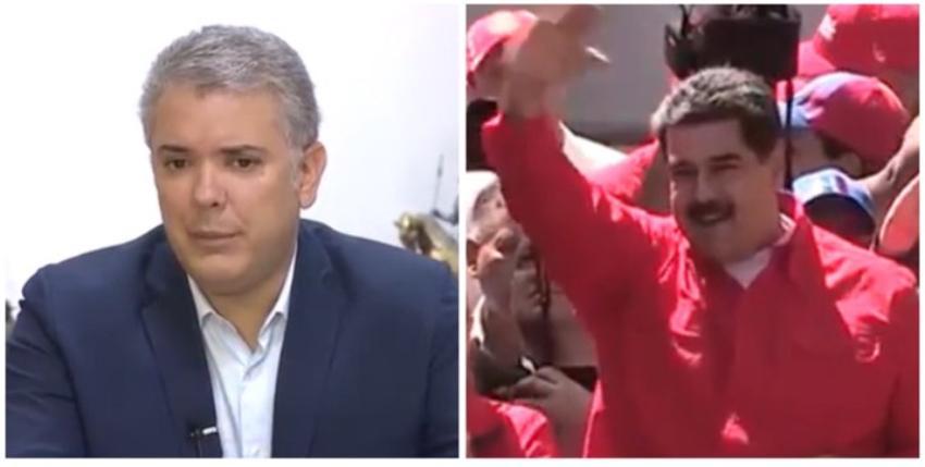 El presidente colombiano Iván Duque asegura que Maduro sería muy feliz en Cuba