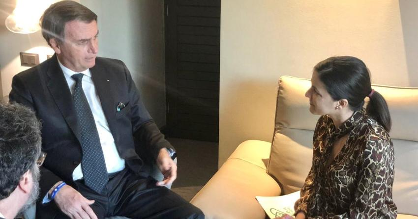Rosa María Payá pidió apoyo a Bolsonaro para los médicos cubanos en Brasil