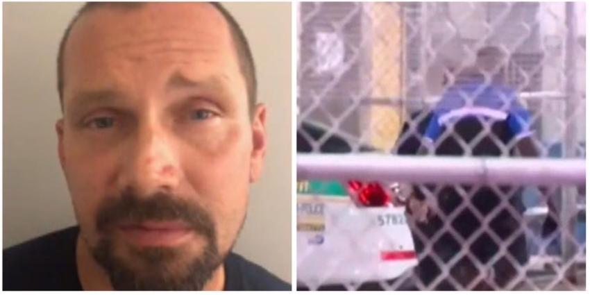 Arrestado un sujeto por dibujar imágenes de odio en Miami Beach