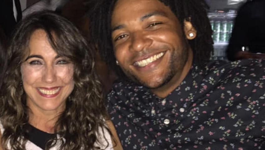 La actriz cubana Tahimí Alvariño estrena novio, se trata de un músico de la Isla