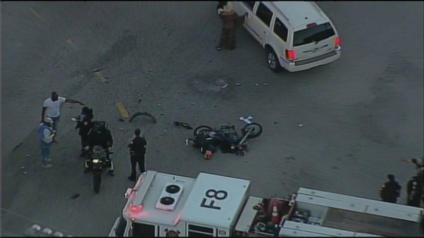 Arrestan un hombre en Miami tras atropellar a un motociclista