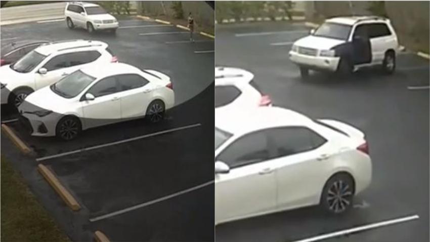 Autoridades buscan a hombre que siguió a adolescente con su auto tocándose y grabándola con su teléfono