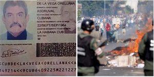 Revelan la identidad de agente cubano que lidera la represión en Venezuela