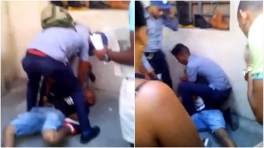 Se filtra video del violento arresto del rapero cubano Pupito a manos de la policía en Cuba