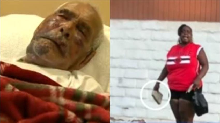 """Sentencian a 15 años a mujer que golpea brutalmente a un anciano hispano con un ladrillo y le grita """"vuelve a tu país"""""""