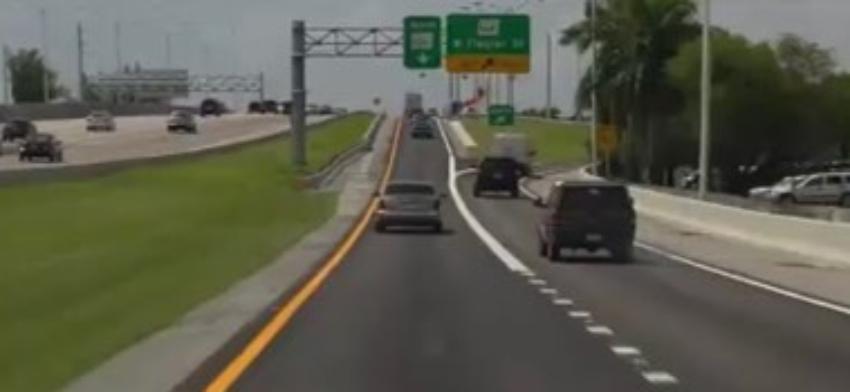 La autopista Palmetto tendría segundo piso con peajes, según proyecto