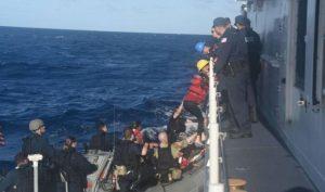 Rescatan a 26 balseros cubanos cerca de los Cayos de la Florida