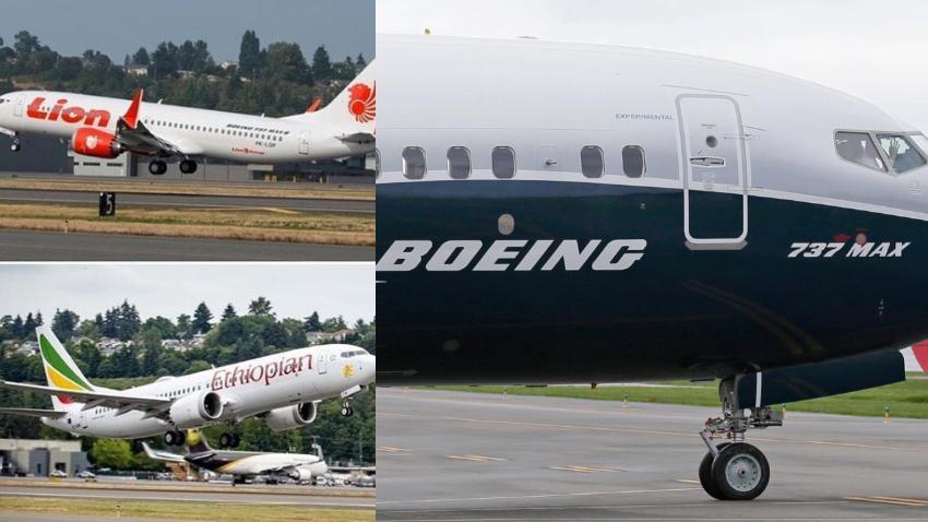 Segundo accidente mortal en pocos meses del nuevo avión de Boeing, el 737 MAX 8