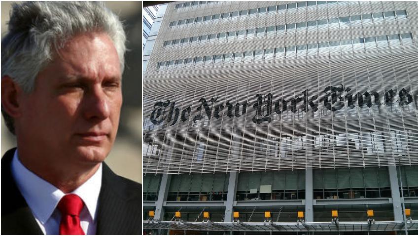 Díaz-Canel acusa al New York Times de difamar a los médicos cubanos