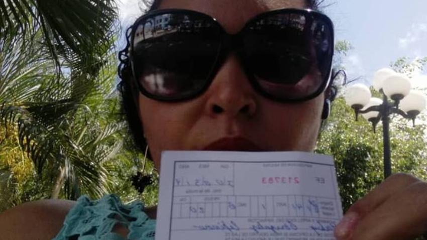 Multan con 20 pesos y le prohíben volver a la tienda por el dia a una cubana por grabar un video dentro del establecimiento