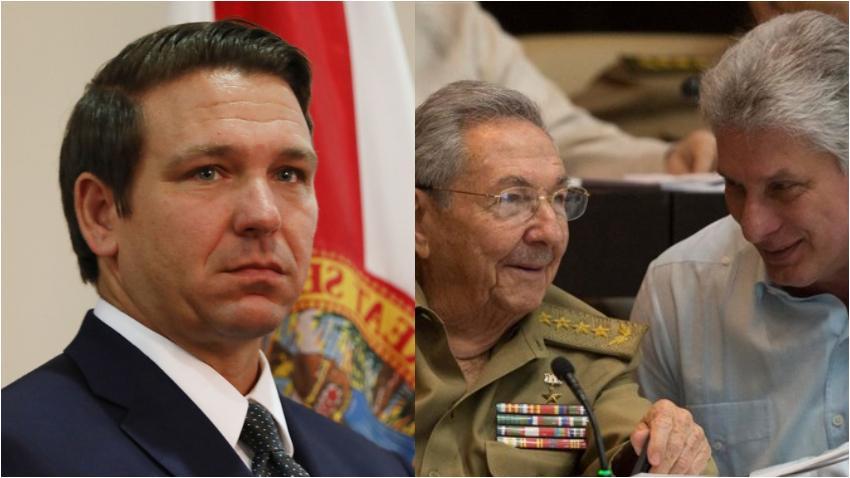"""Ron DeSantis aplaude política de Trump hacia el régimen cubano, y afirma le gustaría ver """"una Cuba libre y democrática"""""""