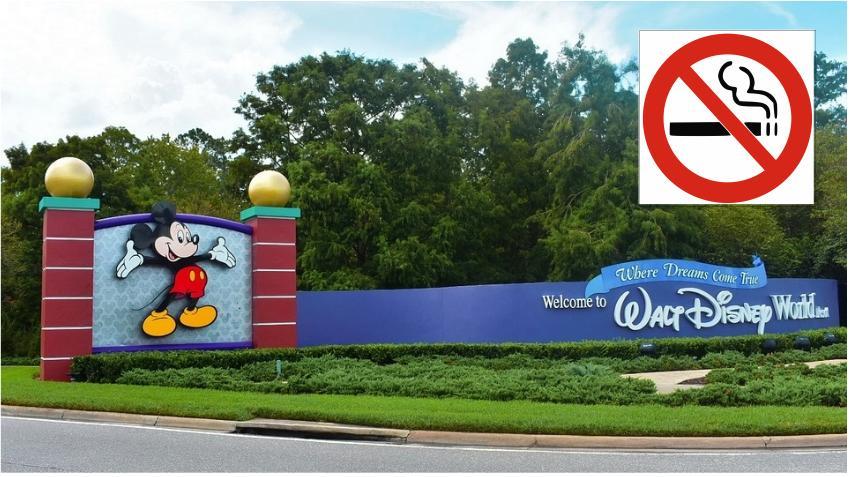 No fumadores: Disney trae nuevas regulaciones a partir de mayo