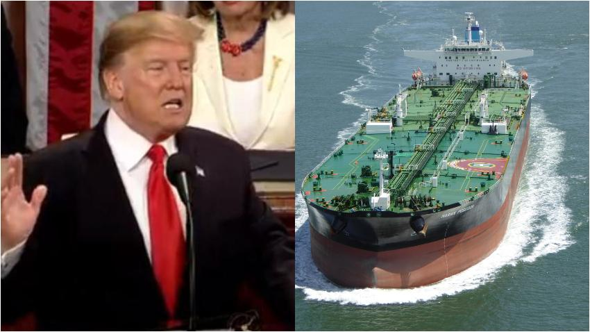 Estados Unidos advierte de consecuencias a compañías que transporten petróleo de Venezuela a Cuba