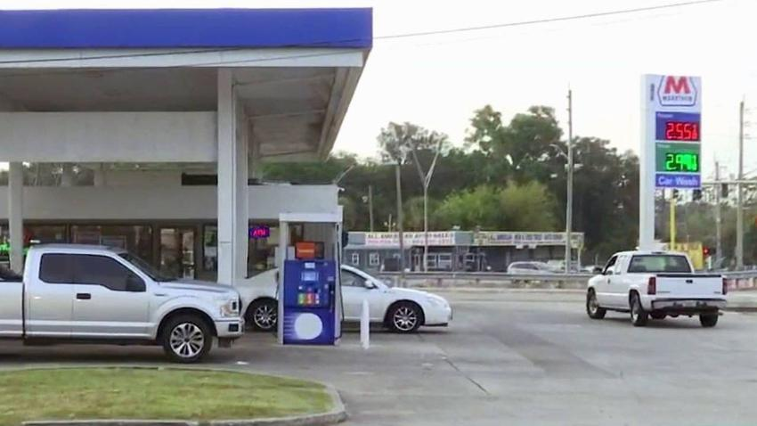 Hombre recibió un disparo mientras cargaba gasolina en Florida