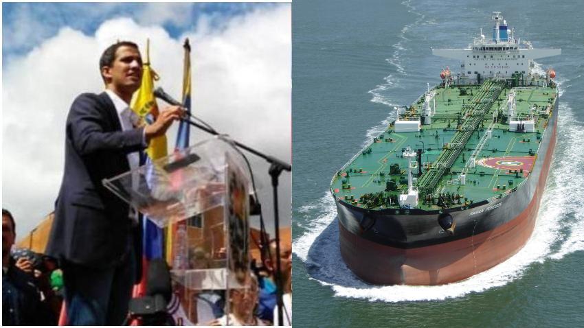 Presidente interino de Venezuela, Juan Guaidó, pide ayuda internacional para detener los envíos de petróleo a Cuba