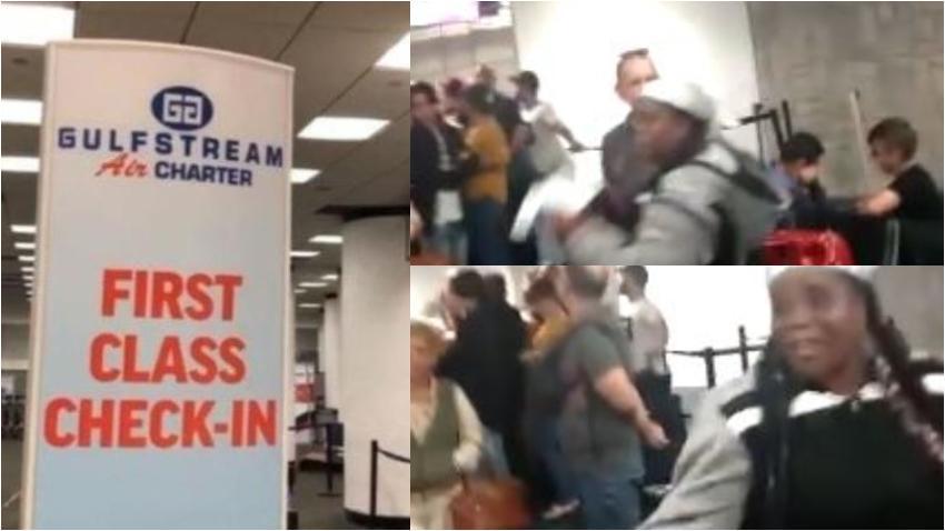 Cubanos varados en el aeropuerto de Miami aseguran que en Cuba el servicio es mucho mejor