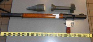 Agentes de la TSA encuentra en el equipaje de un hombre de Florida un lanza granada