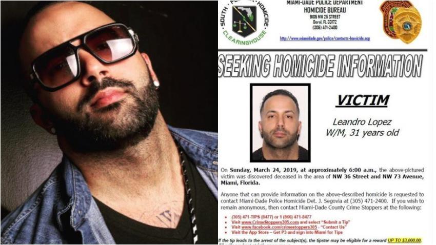Asesinan a promotor musical cubano en Miami y su familia busca ayuda para encontrar a los culpables