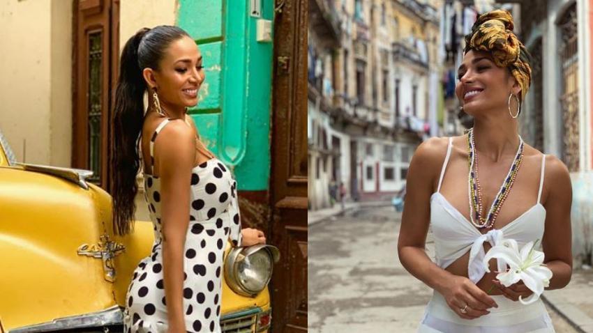 Asaltan de manera violenta a la modelo cubana Lisandra Silva