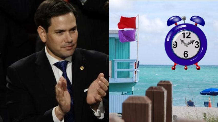 Senador Marco Rubio vuelve a presentar proyecto de ley para dejar el horario de verano de forma permanente