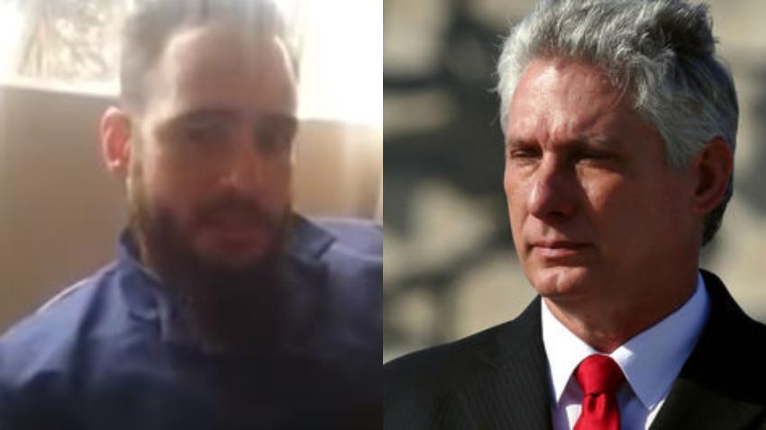 """Médico cubano responde a Díaz-Canel: """"Nos obligaban a inventar pacientes y hacer ingresos falsos en terapia intensiva"""""""