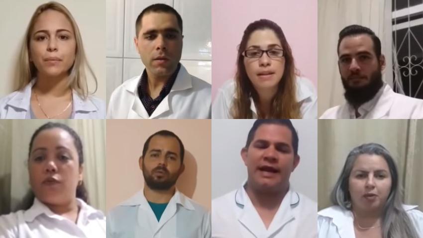 Médicos Cubanos envían video al presidente Trump para que reactive el programa de Parole