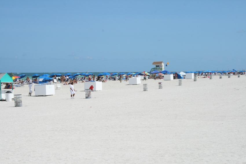 Llegan las temperaturas de Verano a Miami a pesar de estar en marzo