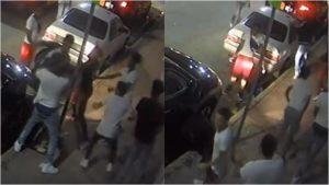 Pelea tumultuaria en Miami Beach queda captada en cámara