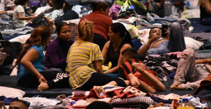 Un total de 192 migrantes cubanos permanece en albergue de Ciudad Juárez a la espera de su entrevista de asilo con autoridades de EEUU