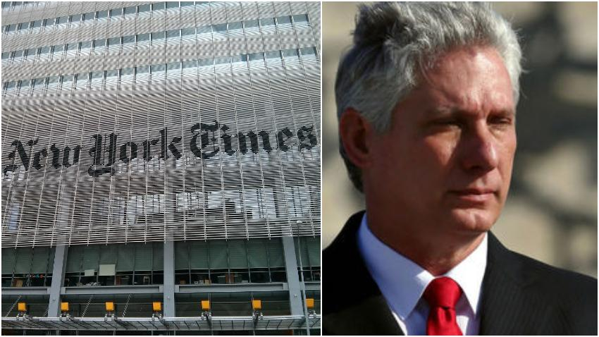 The New York Times responde a Miguel Díaz-Canel