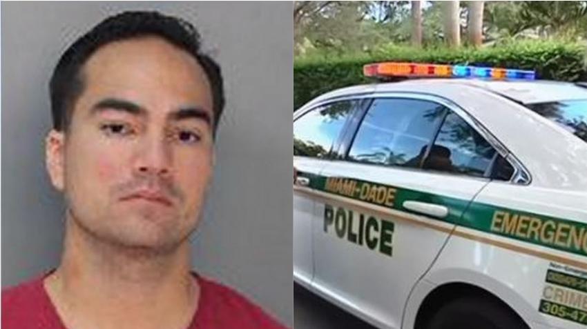 Oficial de la Policía de Miami acusado de acosar a su ex novia violando orden de alejamiento