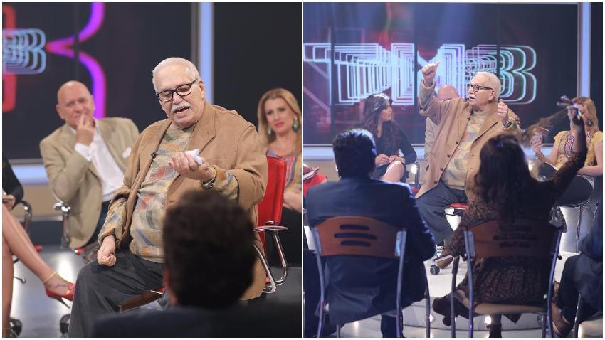 Actor cubano Orlando Casín visita América Tevé invitado al show TN3