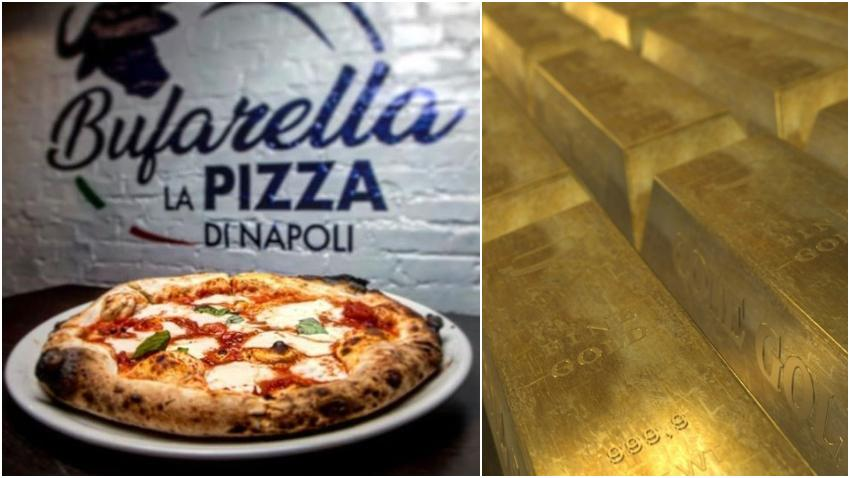 Pizzería en el Sur de la Florida vende una pizza por $250 dólares: Buffala Mozarella, Caviar y... Oro