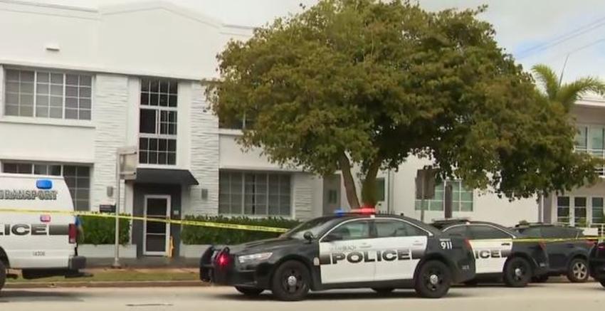 Un hombre armado con un cuchillo hiere a una mujer y se niega a abandonar el apartamento de Miami Beach