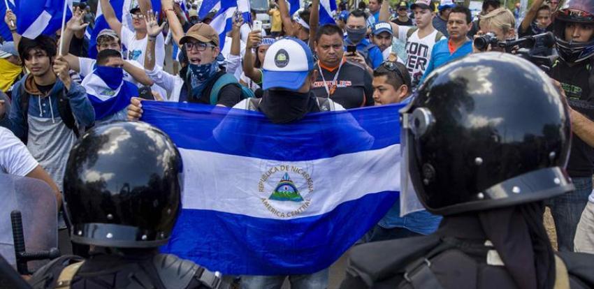 Luego de pasar meses en la cárcel, estudiante nicaragüense revela que hay agentes cubanos en las fuerzas represivas de Ortega
