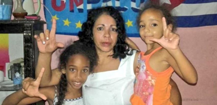 Desde la prisión la activista cubana Aymara Nieto espera la confirmación de su sentencia de cinco años de cárcel