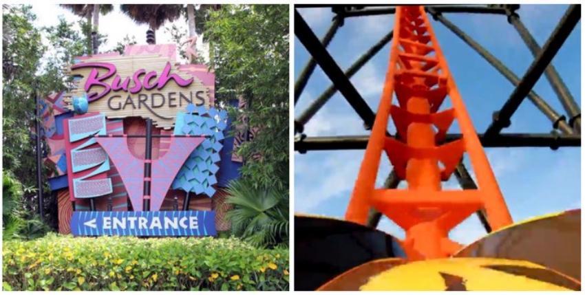 La montaña rusa más alta de Busch Gardens se inaugurará este viernes en Tampa
