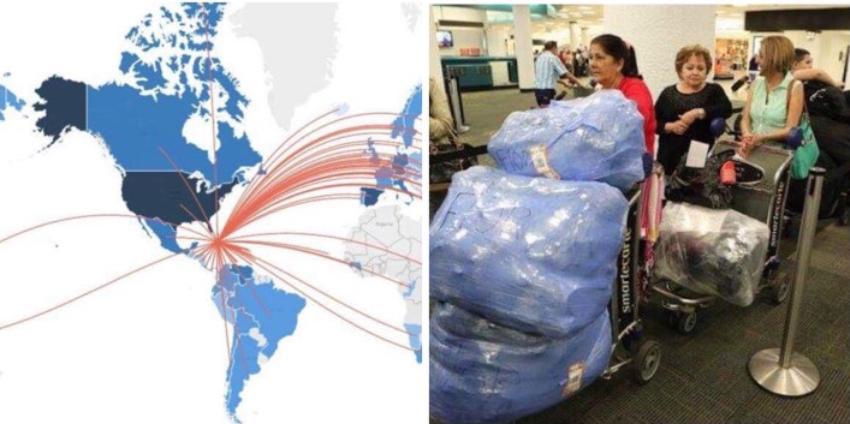 El 13.57% de la población cubana vive fuera de Cuba