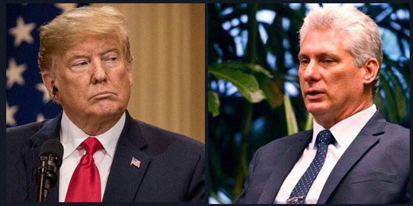 """Trump anuncia """"embargo total y completo"""" para Cuba si el régimen de La Habana no saca a sus militares de Venezuela"""