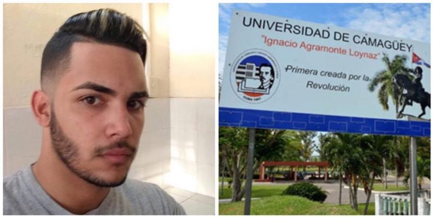 El OCDH exige la reincorporación de Jorge Enrique Cruz, estudiante expulsado de la Universidad de Camagüey