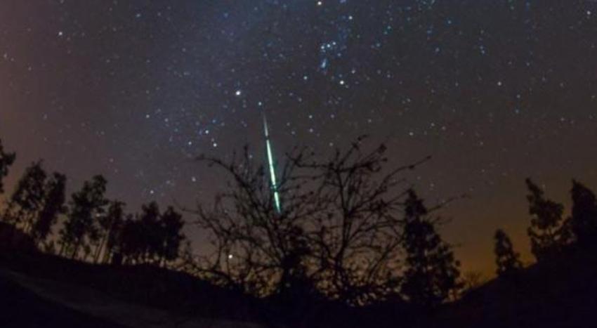 Durante esta noche y la de mañana llega la máxima actividad para la lluvia de estrellas líridas