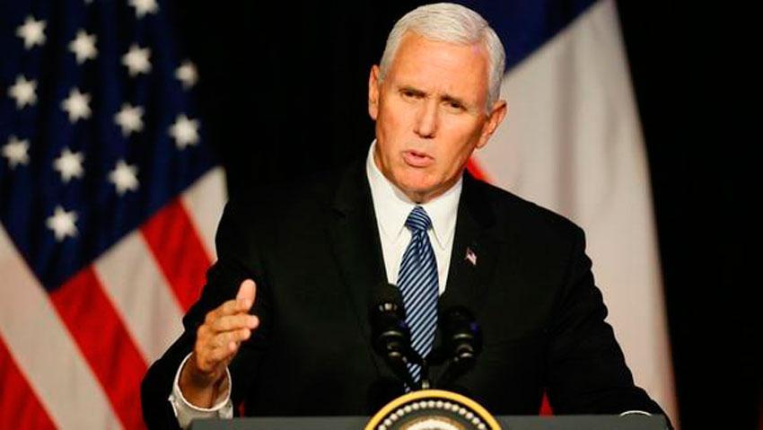 Vicepresidente Mike Pence lanza la coalición Latinos por Trump, este martes en Miami