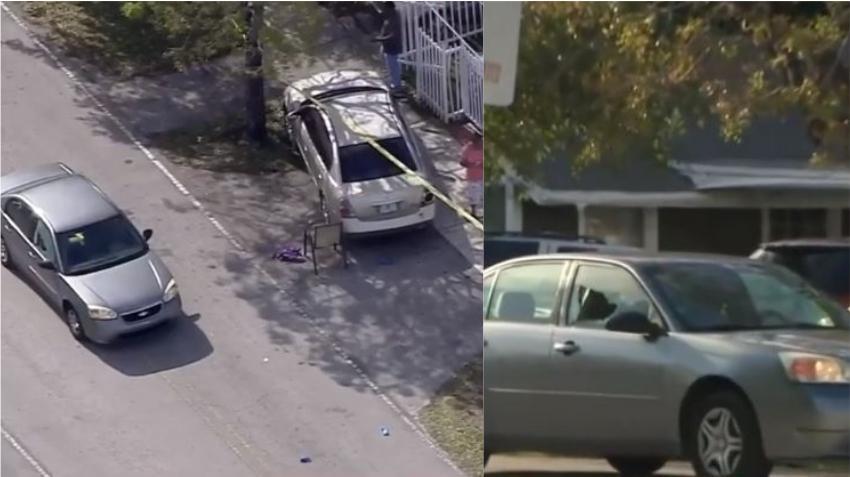 Una bala perdida hiere a una mujer sentada en un automóvil en barrio del noroeste de Miami