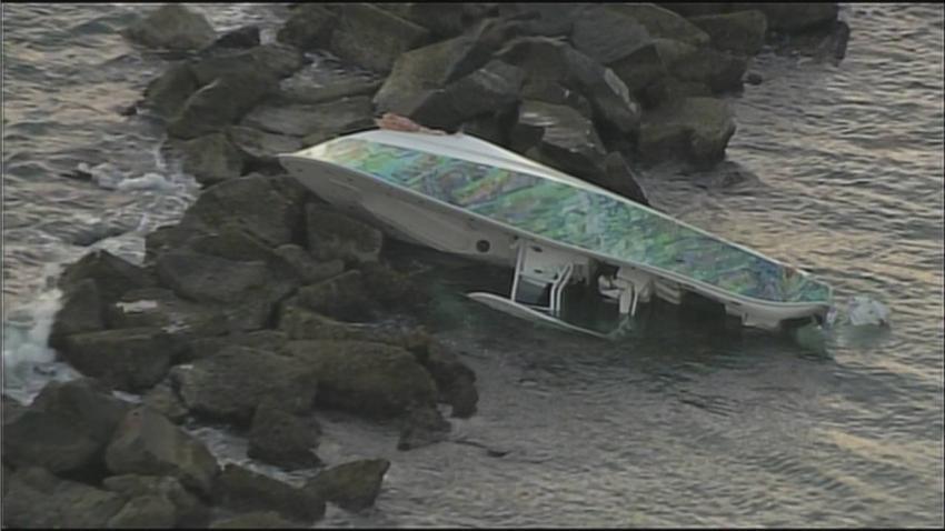 Hallan el cuerpo de la cuarta persona a bordo del bote que chocó cerca del muelle de South Pointe en Miami Beach
